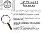 tips for buying insurance1