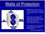 walls of protection