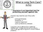 what is long term care ltc