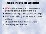 race riots in atlanta