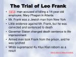 the trial of leo frank