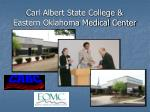 carl albert state college eastern oklahoma medical center