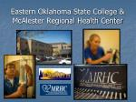 eastern oklahoma state college mcalester regional health center