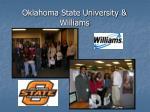 oklahoma state university williams