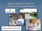 rogers state university claremore regional hospital