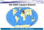 igs gnss tracking network