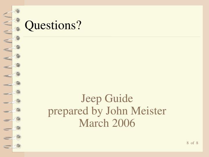 Jeep Guide