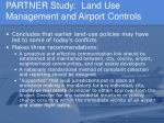 partner study land use management and airport controls