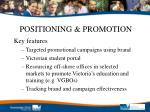 positioning promotion