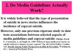 2 do media guidelines actually work