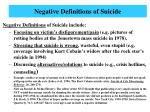 negative definitions of suicide