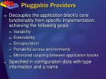 pluggable providers1
