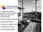 interposition