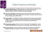 cultural competency and humility