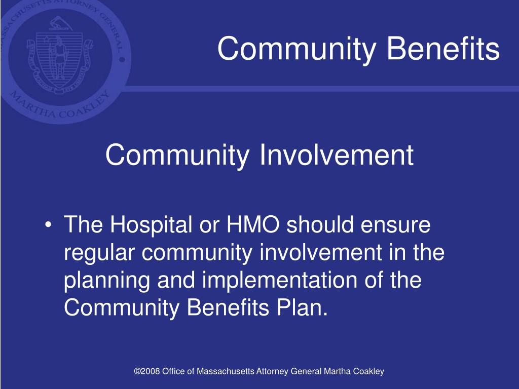 Community Benefits