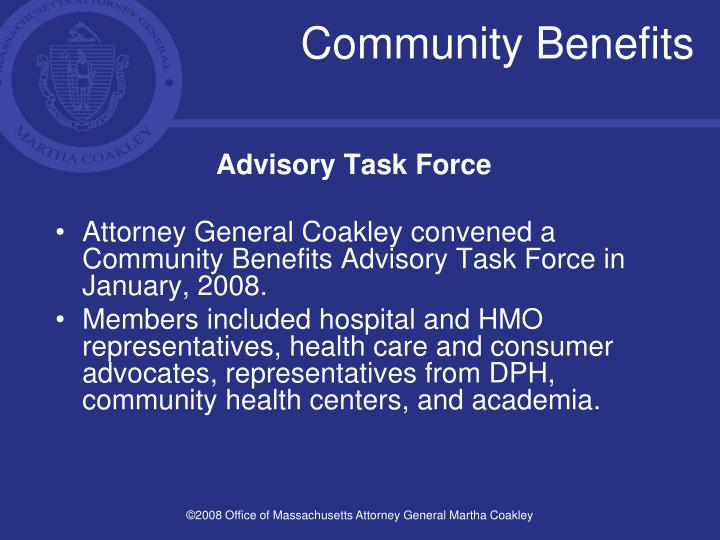 Community benefits3