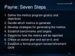 payne seven steps