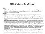 aipla vision mission