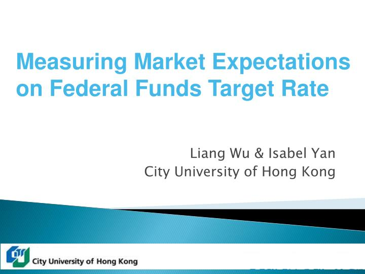 liang wu isabel yan city university of hong kong n.