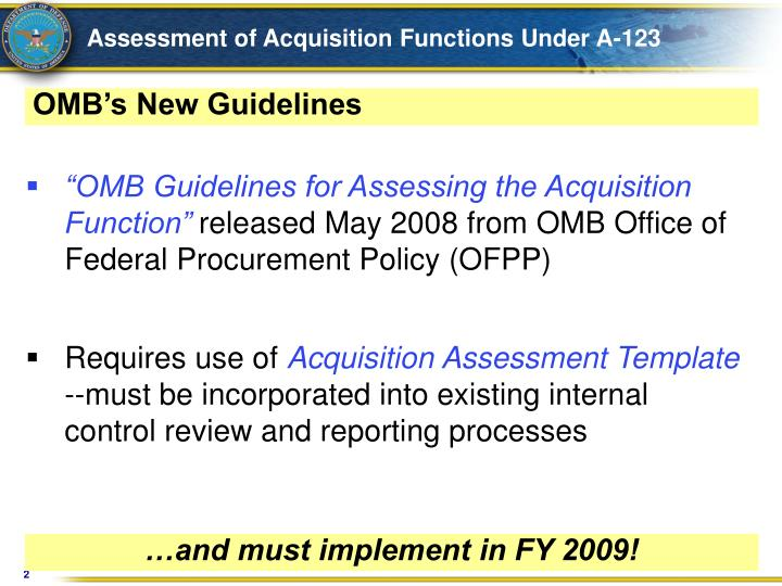 Assessment of acquisition functions under a 123