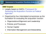 assessment of acquisition functions under a 1233