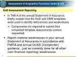 assessment of acquisition functions under a 1235