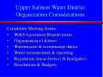 upper salmon water district organization considerations2