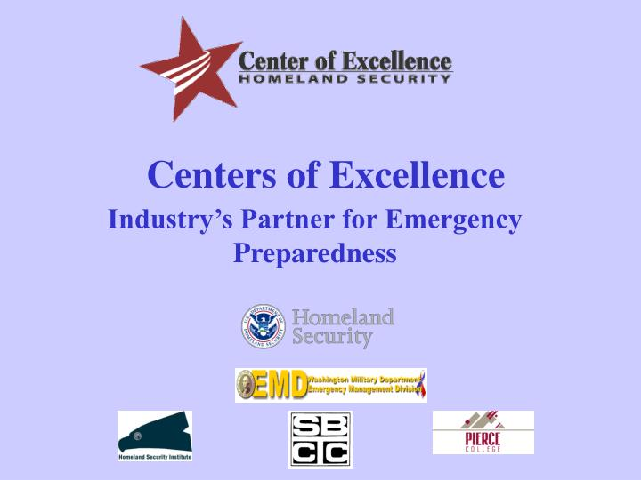 centers of excellence n.
