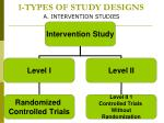 1 types of study designs