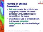 planning an effective presentation15