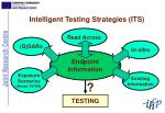 intelligent testing strategies its