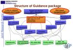 structure of guidance package
