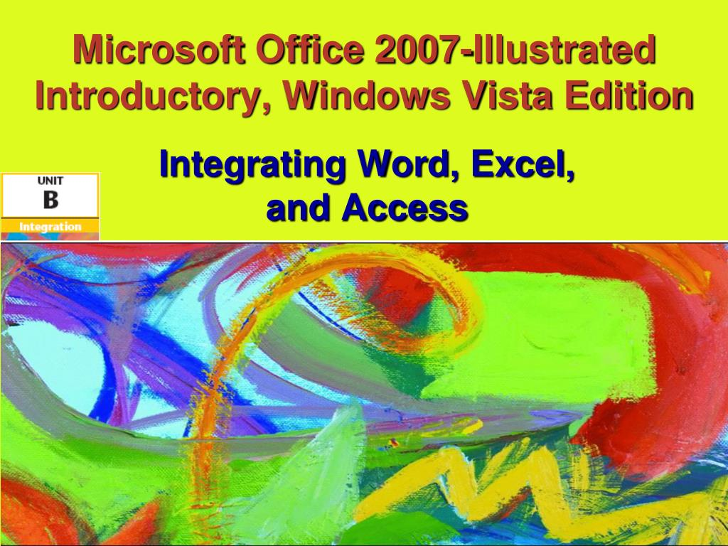 microsoft office 2007 illustrated introductory windows vista edition l.