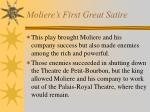 moliere s first great satire1