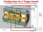 configuration for 4 trigger boards 24 superdrawer sd top x 24 sd bottom single tower trigger