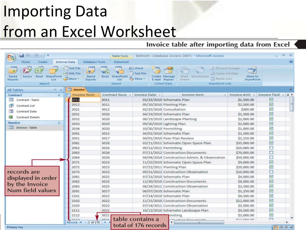 Importing Data