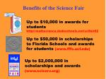 benefits of the science fair
