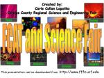 created by carie callan lopatka orange county regional science and engineering fair