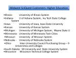 midwest sciquest customers state higher ed