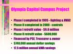 olympia capitol campus project