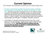 current opinion tec canadian ceo organization anderson economic report august 2009