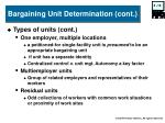 bargaining unit determination cont1