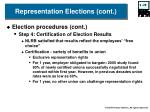 representation elections cont3