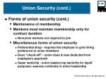 union security cont2