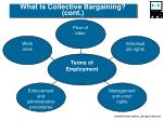 what is collective bargaining cont