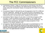 the fcc commissioners