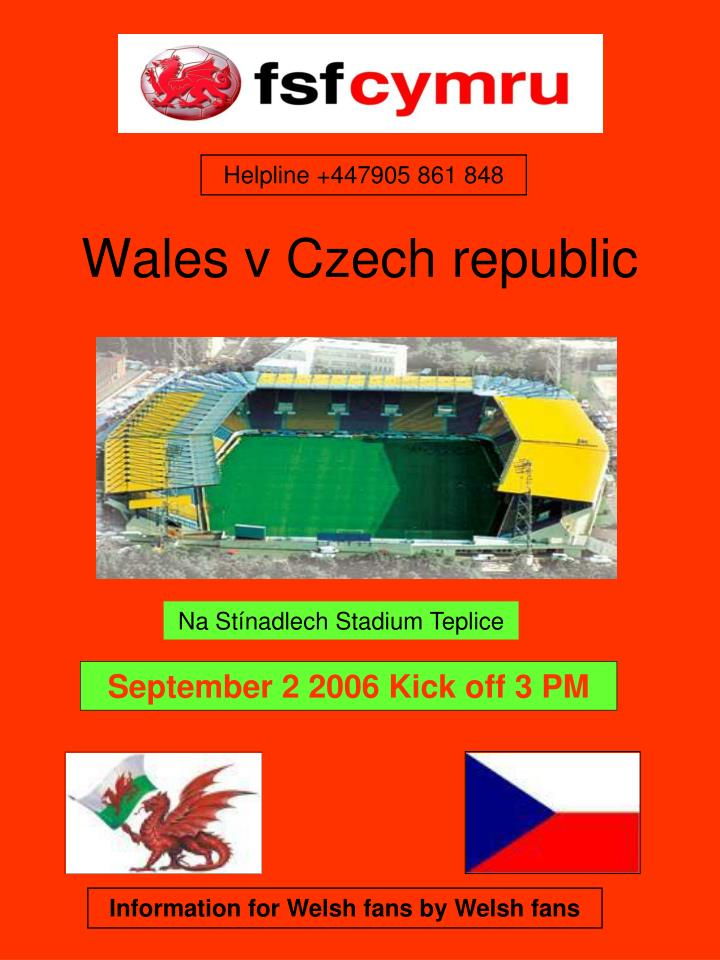 wales v czech republic n.