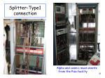 splitter type1 connection