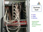 system test
