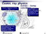 cosmic ray physics